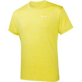 Salewa Puez Melange Dry - T-shirt manches courtes Homme - jaune